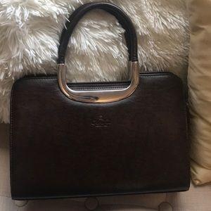 Handbags - Brown leather bag